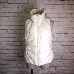 Puffer Vest Off White Kenneth Cole